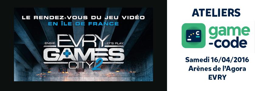 Evry games City 2